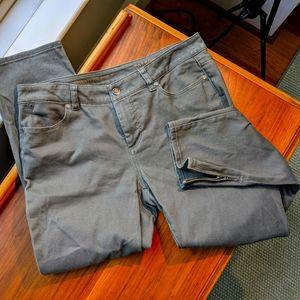 Talbots Signature Crop Jeans Size 8